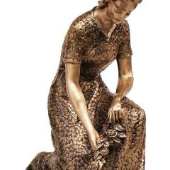 bronzestatuelady